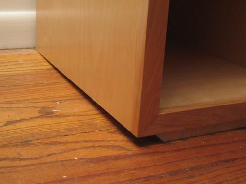 Floor shim - view 2
