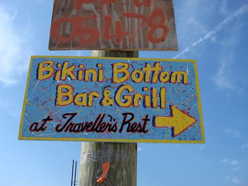 bikini bottom sign. Bikini Bottom
