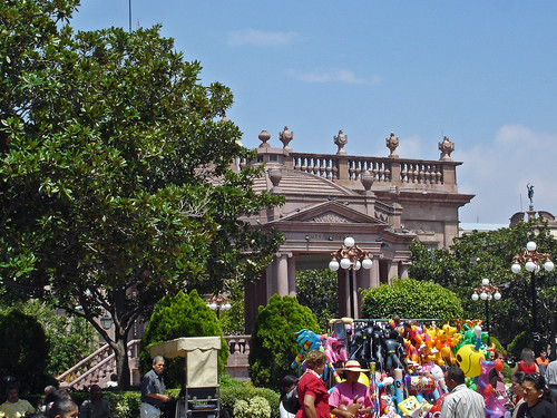 San Luis Potosi - Plaza de Armas 1