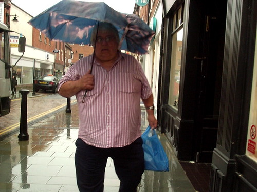 Fat Man in the Rain