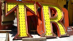 Neon Graveyard (Carl Carl) Tags: signs sign t neon lasvegas r signage tr