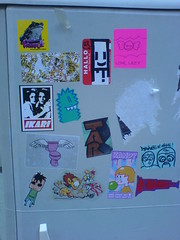 Sticker Combo Munich / Germany (Veryapeart) Tags: frischgestrichen pleaseflush vaa fahr kandycore ezeart tarkinson lazynachos ikaritrashisfesch epicgraphics nanoveryapeartstickercombostreetartmunichschwabing