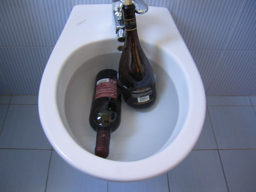 The bidet, finally found some use for this thing!