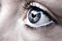 eye (helgabj) Tags: blue color macro eye contrast eyes superaplus aplusphoto diamondclassphotographer flickrdiamond olmostbw