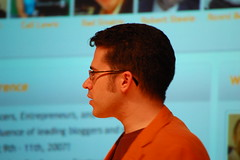 Chris Pirillo at Gnomedex 2007