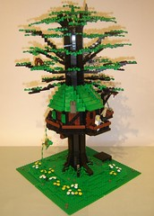 Druid's Cottage (DARKspawn) Tags: castle lego cottage treehouse fantasy druid