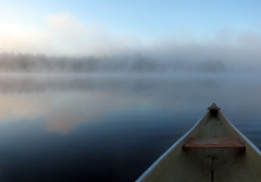 STC_3745 copy (ick Harris) Tags: morning ontario canada canoe lakestpeter