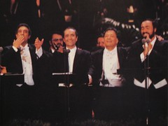 Domingo, Carreras, Mehta and Pavarotti. (07/16/1994)