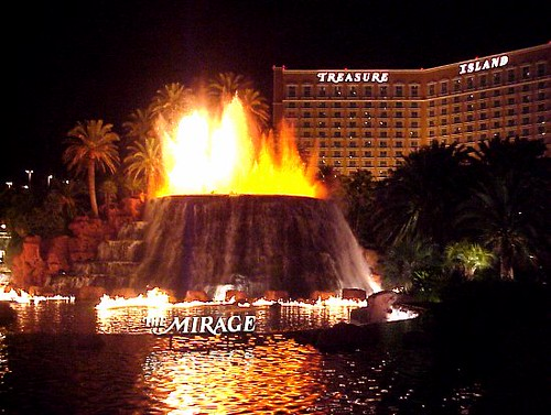 A List Of Hotels In Las Vegas Mirage Hotel Amp Casino