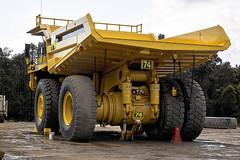 komatsu 830e back (dalinean) Tags: truck big machine dump sigma australia mining machinery huge wa geology sd10 komatsu immense westaustralia earthmoving haulpack 830e