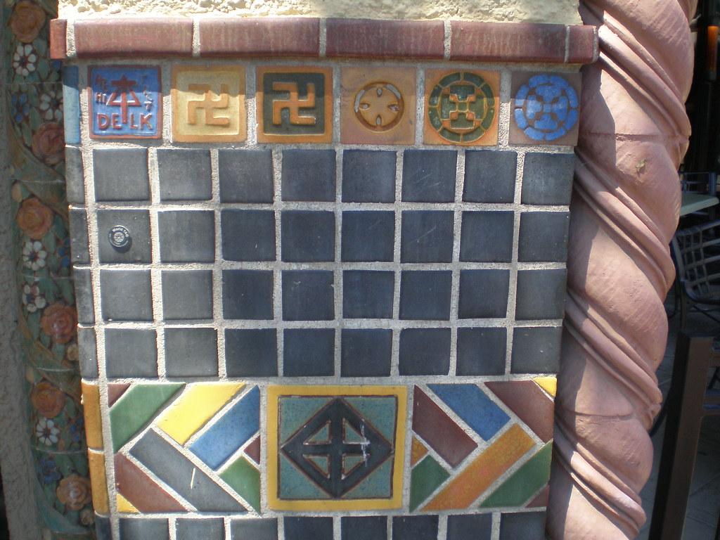 Wall decoration, The Plaza Area, Kansas City, Missouri