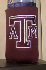Texas A & M (Order at: thekooziefloozie@aol.com) Tags: pink horse water beer cat keys boats rainbow keychain crystals texas purple hellokitty polkadots angels zebra giraffe soda dots beverages breastcancer rhinestones aggies koozies salonp