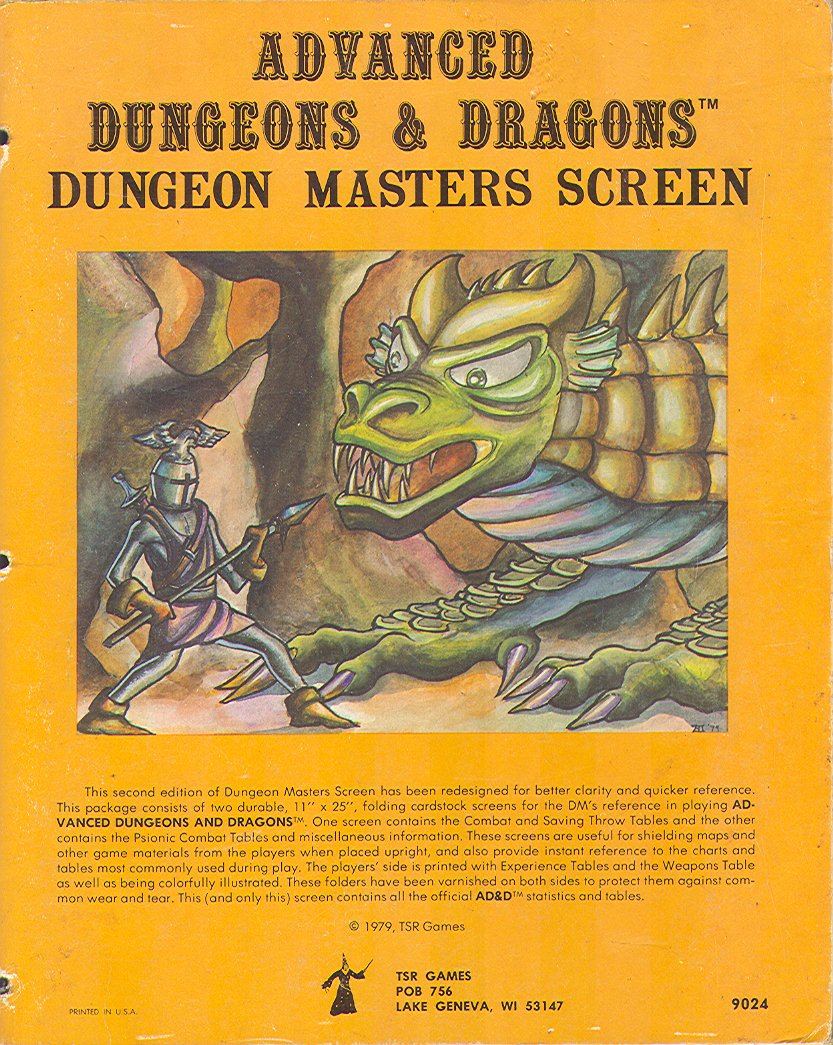Game Master Screen