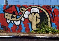 P1000159 (Akbar Sim) Tags: streetart holland netherlands amsterdam graffiti nederland shipyard ndsm noord kbtr akbarsimonse akbarsim