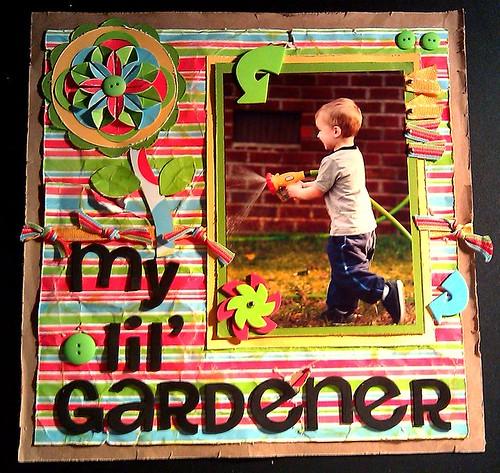 my lil' gardener