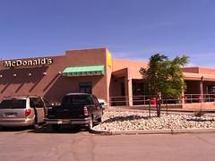 Adobe McDonald's (desbah) Tags: newmexico southwest mcdonalds adobe