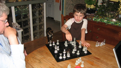 first game of chess
