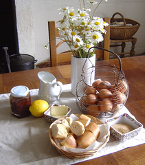 Queen of puddingsingredients 1 (LesTroisChenes) Tags: france bedandbreakfast limousin videix paintingholidays lestroischenes