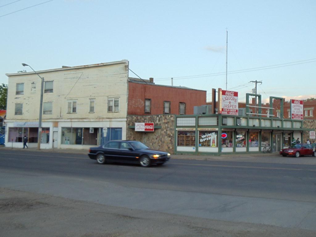 Furniture Store, ARTery, and Liquor on Jasper