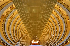 Shanghai - Grand Hyatt Lobby, Jin Mao Tower (cnmark) Tags: world china building tower architecture modern century skyscraper buildings geotagged hotel shanghai interior famous jin grand wideangle lobby explore mao hyatt tall   pudong avenue atrium grattacielo  futuristic tallest wolkenkratzer   lujiazui rascacielo gratteciel   arranhacu   explored grandhyattshanghai allrightsreserved  superstarthebest mygearandmepremium  mygearandmebronze mygearandmesilver mygearandmegold mygearandmeplatinum mygearandmediamond 88  geo:lat=31237022 geo:lon=121501514 aboveandbeyondlevel4 aboveandbeyondlevel1 aboveandbeyondlevel2 aboveandbeyondlevel3