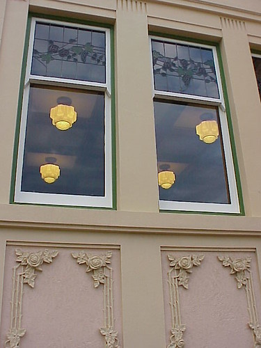 Window, Rothman's Building, Napier