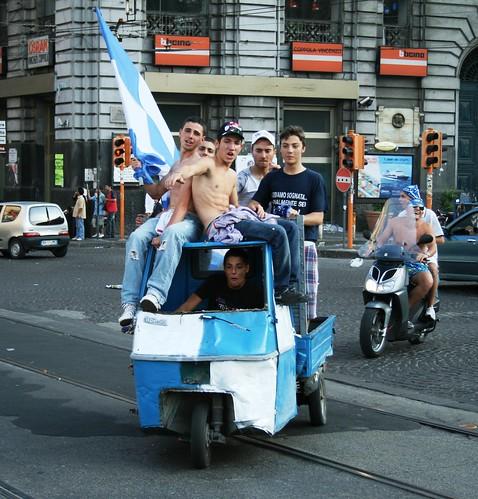 Napoli - Aufstieg in die serie A