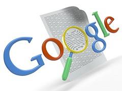 google logo vergrootglas 3D