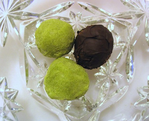 Green Tea Truffles