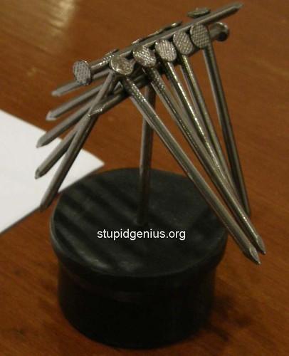 Balancing nails