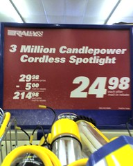 Candlepower Spotlight
