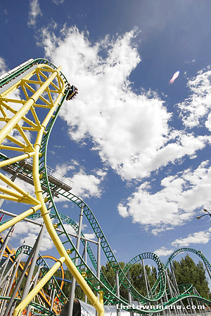 Wicked roller coaster by Mandi Coleman