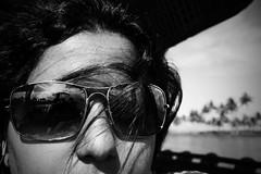 backwater pirate I / Self J (mycrotchetyluv) Tags: vacation reflection umbrella houseboat kerala backwaters 400d kumarakomtoallepuzha waterhighways