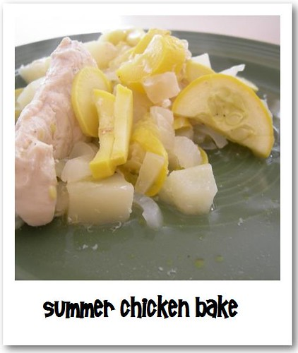 summer chicken bake
