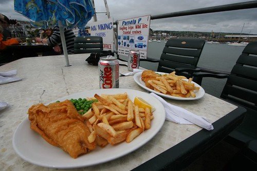 fresh fish and chips, penzance