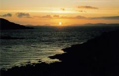 Sunset over the Blaskets