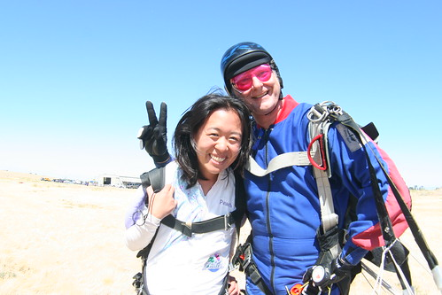 My instructor and me!