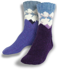 Purple Mountain Socks