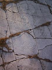Bronzeage rockcarvings at Jrrestad, sterlen, Skne. (Someday man) Tags: sweden prehistoric carvings scania