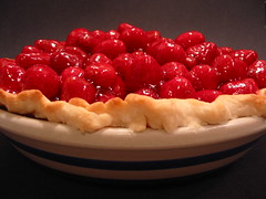Strawberry Pie (jen d. cox) Tags: red food pie crust juicy strawberry strawberries strawberrypie