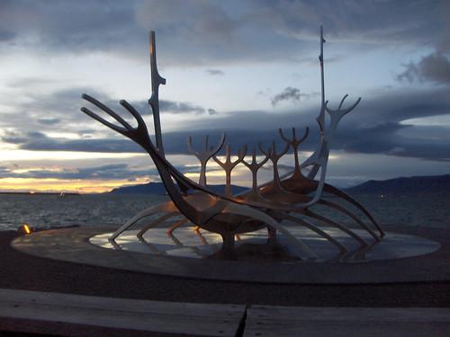 Le drakkar de Reykjavik