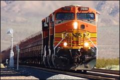 Steel Coil Train with Long Lens (greenthumb_38) Tags: california railroad train mojave locomotive tehachapi longlens rokinon canon40d mojavesub jeffreybass tehachapidaytrip5292010