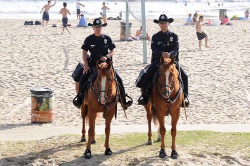 Memorial Day Police Venice Beach
