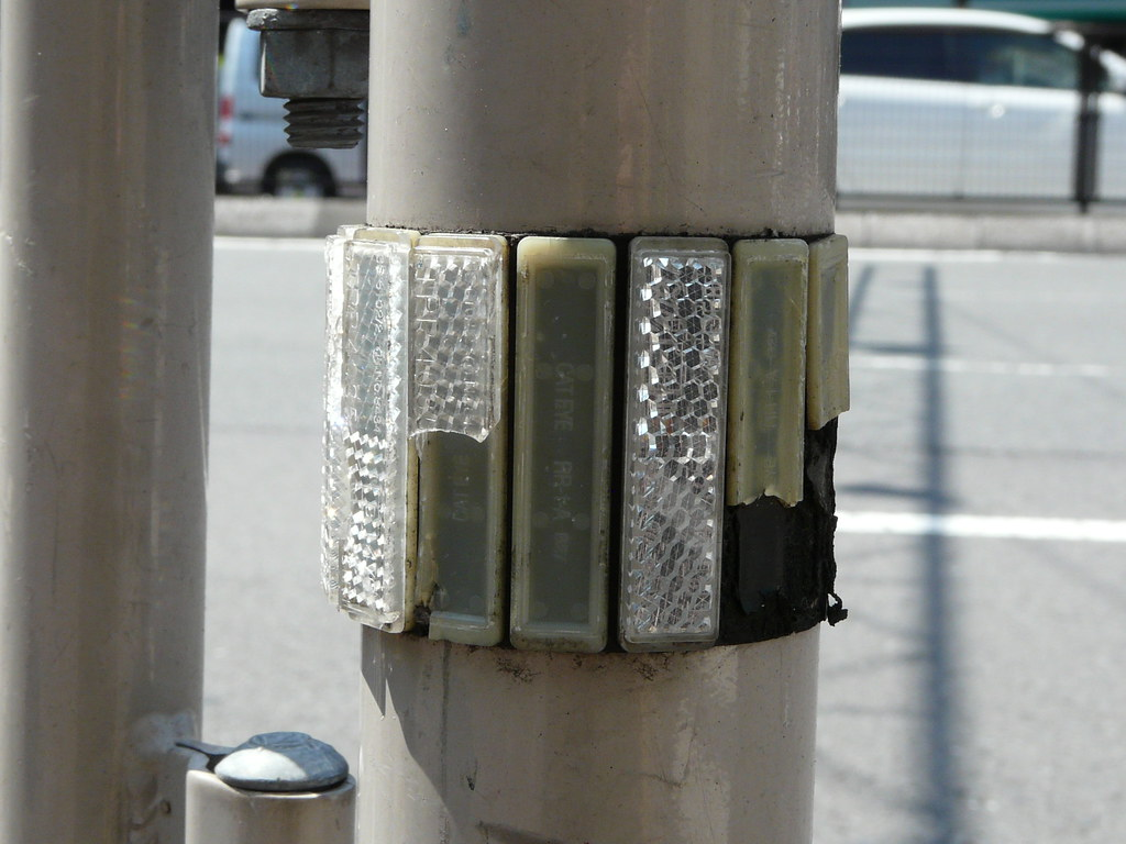 Saftey Reflector at Intersection