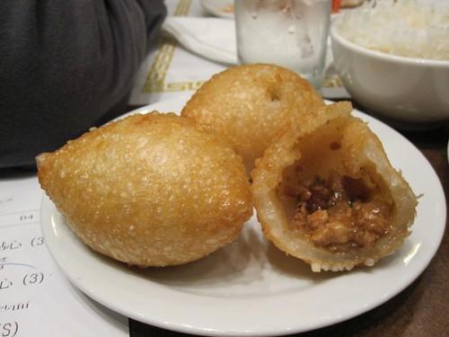 Fried Glutinous Rice Puffs