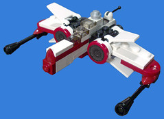 arc170 fixed engines (tbone_tbl) Tags: star starwars republic lego arc mini micro wars clone 170 miniscale