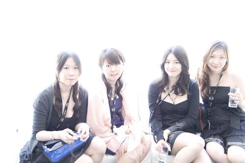 Yuiko, Mayuko, Fooi Mun and Tomoko