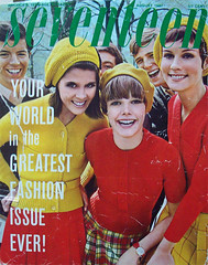 Seventeen magazine august 1967 (Simons retro) Tags: magazine mod 60s august 1967 1960s seventeen
