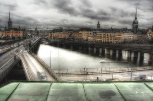 Bridges to Gamla Stan. Stockholm. Puentes a Gamla Stan, Estocolmo