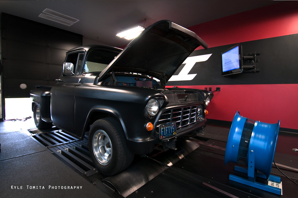 1955 Chevy Pickup on dyno at PSI 3