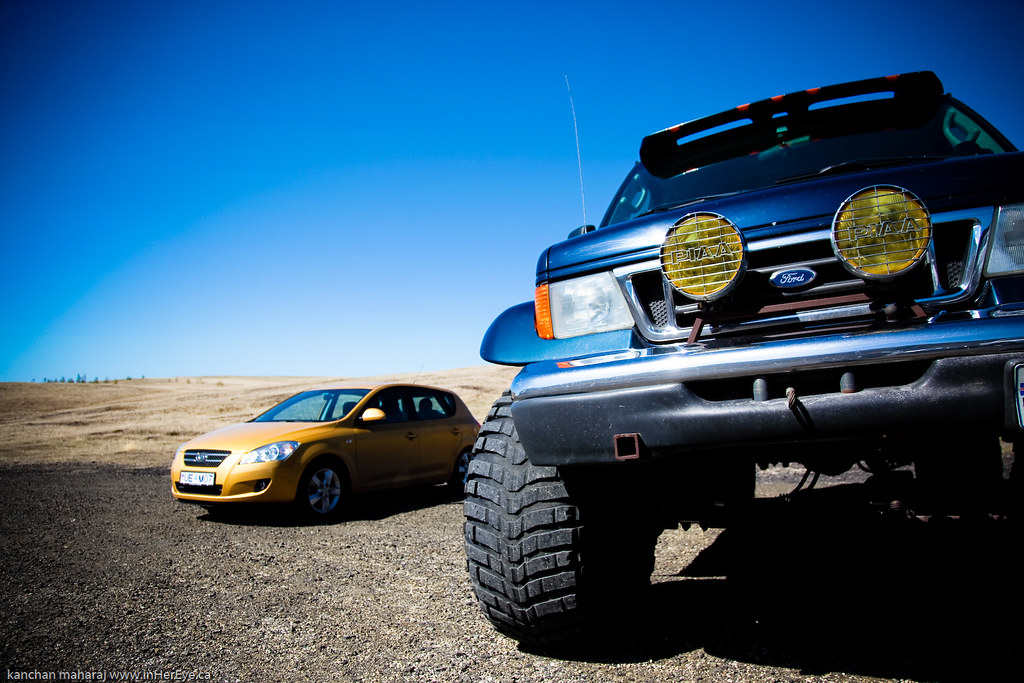 Iceland Day 10-Kia vs Monster Truck